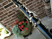 Clean/Fully Adjusted Buffet B12 Clarinet with New Accessories