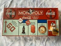 COCA COLA MONOPOLY Collector's Edition 1999 Game + Pewter Tokens New In Plastic