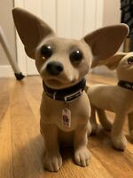 TACO BELL NODDER CHIHUAHUA DOG ALL PLASTIC  7
