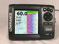 Lowrance ELITE 5 Chirp Sonar / Chartplotter / GPS With Transducer