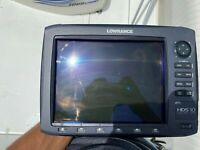 Used Lowrance HDS 10 Gen 2 Fish Finder and Chart Plotter - BUY NOW!