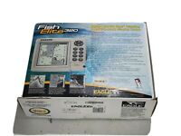 Eagle Fish Elite 320 Sonar Fishfinder Chartplotter  Set with GPS Puck EGC-12W