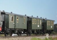 KM1 Gauge 1 Local Train Car Set Luggage Car Various Variants DB 2. Series New