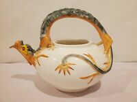 RARE ANTIQUE DRAGON MAJOLICA WEDGWOOD 19TH CENTURY
