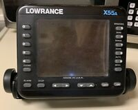 Lowrance X55A Fish Finder Depth Finder Locator Head Unit Only