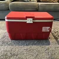 Vintage Coca Cola Cooler Things Go Better With Coke