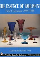 Pairpoint Art Glass Types  1918-1938 / In-Depth Illustrated Book + Values