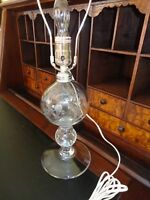 Pairpoint Controlled Bubble Stem, ETCHED BIRD/ Silver Plate/4 lbs/ 20