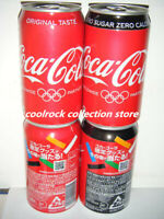 2020 Japan coca cola amp; zero Tokyo Olympic Games 2 cans set 350ml empty