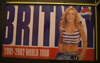 Brittany Spears 2001 2002 Color Pepsi Poster 35x21