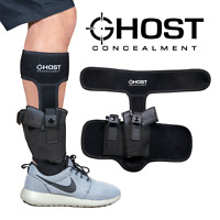 Ghost Concealment Ankle Holster For Concealed Carry Pistol Ambidextrous NEW