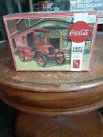 AMT Coca Cola 1923 Ford Model T Delivery Plastic Model Kit #AMT102412 1:25 Scale