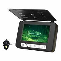 Fish Finder Underwater Ice Fishing Camera HD 1000TVL with 5quot; LCD Monitor 4pcs I