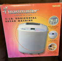 TOASTMASTER 2 LB. HORIZONTAL BREAD MAKER TOUCH CONTROLS TBR20H $23.99