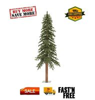 Artificial Christmas Tree 6#x27;x 33quot; Natural Alpine Tree 657 Tips space efficient