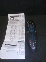 5 Device Universal Remote ONE FOR ALL with instructions and codes $8.00