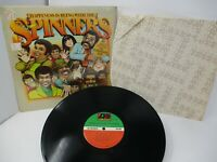 Happiness is Being with the Spinners LP Atlantic 1976 Shrink Hype Liner