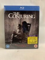 THE CONJURING rare UK Universal BLU RAY cult horror movie AU $9.95