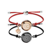 Smart Touch Jewelry Couple Bracelets Touch To Send Out Your Love Gift for love $144.98