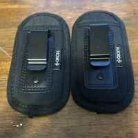 Universal Pouch Concealed Carry For Magazines Knives Or Flashlights 2 Pouches