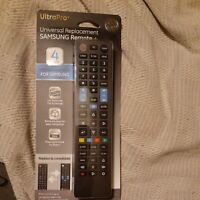 GE 4 Device Universal Samsung Replacement Remote Black $9.90