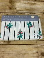 Utica Western King Fitted Sheet Eileen West Red Roses NOS Vintage Bedding