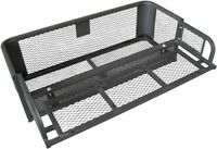 Universal ATV UTV Quad Drop Basket Rear Carrier Storage Luggage Rack Steel NEW