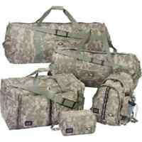 Camo Bag Set Luggage Duffle Carry Tote Travel Outdoor Army Gym Camp Backpack New