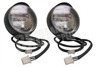 Set of 2, Dual Beam Headlight Fog Lamp for Utility Vehicle Go Kart Cart ATV UTV