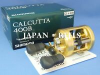 NEW SHIMANO CALCUTTA 400B CT 400B RIGHT HANDLE ROUND REEL*1-3 DAYS FAST DELIVERY