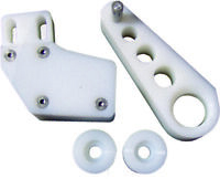 Modquad 4 Piece Set (Chain Slider, Chain Guide & Rollers) White RCG1-5