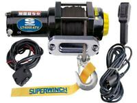 Superwinch 12V DC Electric ATV Winch-4000Lb.Cap. 50ft. Synthetic Rope,#1140230