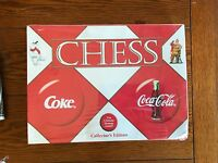 Coca Cola VS. Coke Chess Set Collector's Edition Set - New in Package