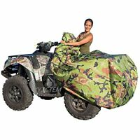 Camo ATV Cover Waterproof 4 Wheeler XL Universal Size All Weather Heavy Duty NEW