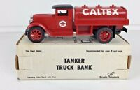 Texaco Caltex Gas Oil 1929 International Tanker Truck Red, Ertl GB-4086 Open Box