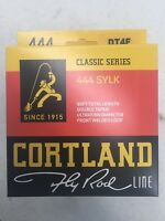 Cortland 444 Classic Sylk DT4F Fly Line Free Shipping