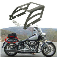 Detachables Solo Luggage Mount Rack Fit For Harley Tour Pak Softail FatBoy 00 06