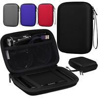 MoKo 5in7in Car GPS Carrying Case Hard Shell Protective Pouch Storage Skins Bag