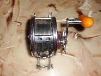 Vintage PENN Grand Mariner 349 Conventional Reel- USA w/ Stainless Steel Wire