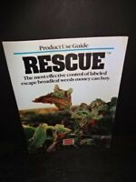 Vintage Uniroyal RESCUE Product use Guide Booklet Herbicide Soybean