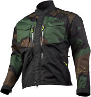 Thor Mens Green Camo Terrain Dirt Bike Jacket MX ATV 2019