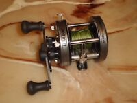 Vintage Abu Garcia Ambassadeur USA 500 High Speed Baitcasting Reel- Sweden