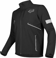Fox Racing Mens Legion Softshell Black Dirt Bike Jacket Dual Sport Trail ATV