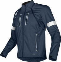 Fox Racing Mens Legion Navy Blue Dirt Bike Jacket Dual Sport Enduro Trail ATV
