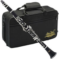 Jean Paul Student Clarinet in Key of Bb, Boehm 17 Key System, w/ Carrying Case