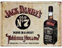Jack Daniels Tin Metal Ad Sign Whiskey Alcohol Bar Man Cave Dorm Picture Gift