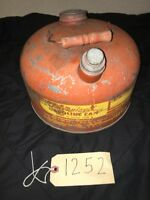 Vtg Antique EAGLE 2.5 Gal Metal GAS CAN TANK  -