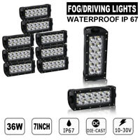 10Pcs 36W High Power LED Work Light Bar For Off-Road 4x4 Truck SUV Jeep Boat ATV