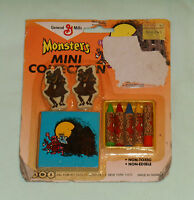 vintage monster cereal COUNT CHOCULA MONSTERS MINI COLLECTION MOC eraser crayon