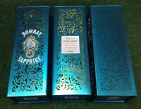 Lot of 3 Cool Bombay Sapphire Gin Metal Die-cut Embossed Box/Tin